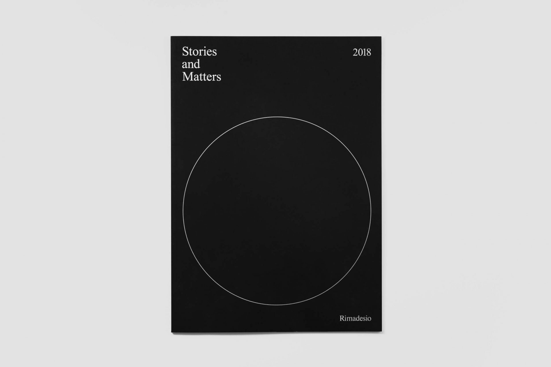 Stories and matters 2018